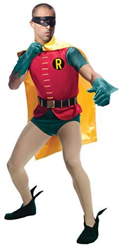 Rubie's Costume Grand Heritage Robin Classic TV Batman Circa 1966, Multicolor, Standard Costume