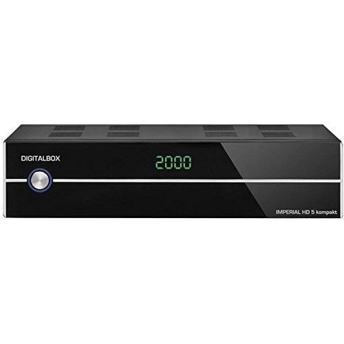 Imperial HD 5 kompakt HDTV-Satelliten-Receiver (Display, HDMI, Audio-Video-Cinch, USB 2.0, Mediaplayer) schwarz (Zertifiziert und Generalüberholt)