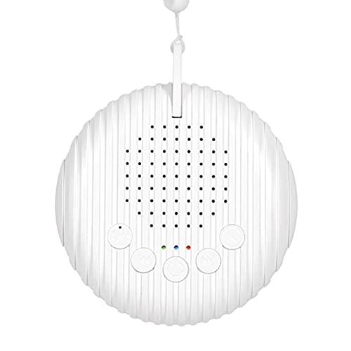 Máquina de Ruido Blanco, Recargable por USB, máquina de Sonido para Dormir para bebés, edredón para Dormir para bebés, para bebés/Adultos, para el hogar, guardería, Oficina, Viajes