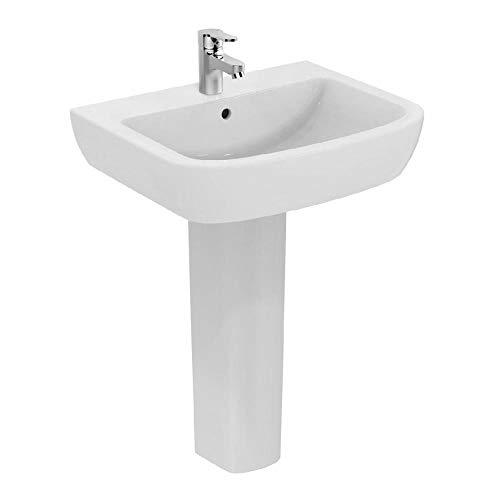 Ceramica dolomite, colonna per lavabo, bianca, serie gemma 2, J521501