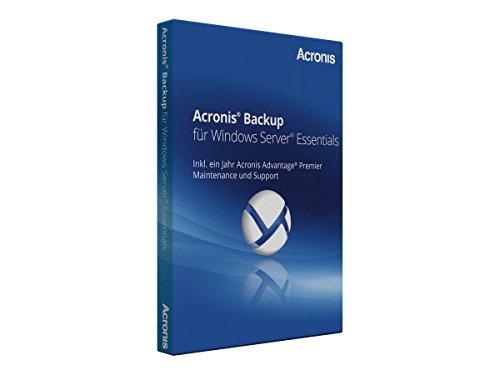 Acronis Backup for Windows Server Essentials - (v. 11.5) - Box-Pack + 1 Year Advantage Premier - 1 Rechner - Win - Englisch