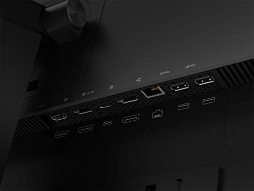 Lenovo ThinkVision P24h-20 23.8p 2560 x 1440 IPS 16:9 HDMI DP DP-Out USB Type-C 300 Nits - 13