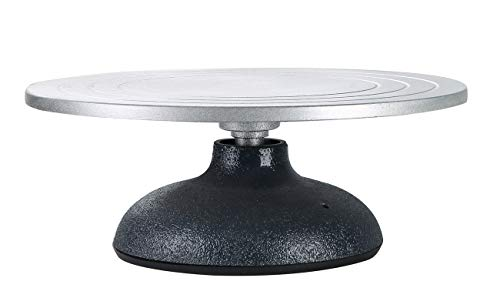 """NATGAI Sculpting Wheel - Heavy Duty All Metal Construction & Sculptor Turntable with Ball Bearings (12"""" Diameter)"""