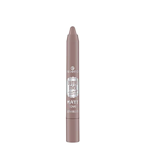 essence - Lippenstift - butter stick matt love - hot cocoa