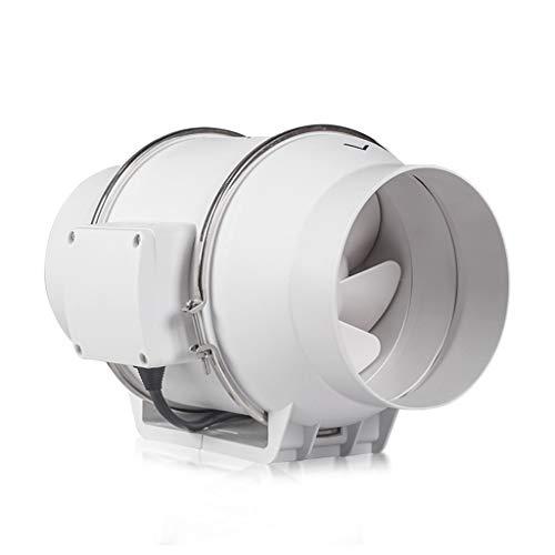Air Puller Badkameraccessoire, ronde ventilator, 6 inch, geluidsloze afvoerventilator, 220 volt, kunststof topventilator