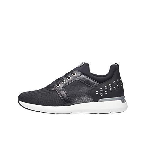 NeroGiardini A806590D Sneaker Mujer De Piel Y Tejido Técnico