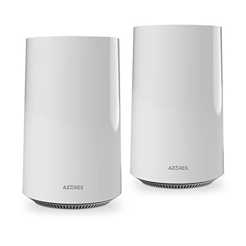 AZORES WiFi 6 Whole Home Mesh WiFi System MU-MIMO Wireless Router AX1500-2 Pack
