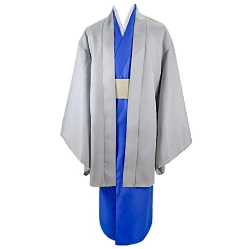 3PCS Anime GINTAMA Katsura Kotarou Halloween Karneval Cosplay Kostüm Täglich Lässig Kimono Anzüge Outfit Yukata