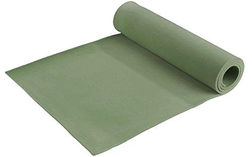 Open Air Isomatte 0,6 cm für Camping, Outdoor, Sport, 180 x 50 x 0,6 cm, grün, 905000