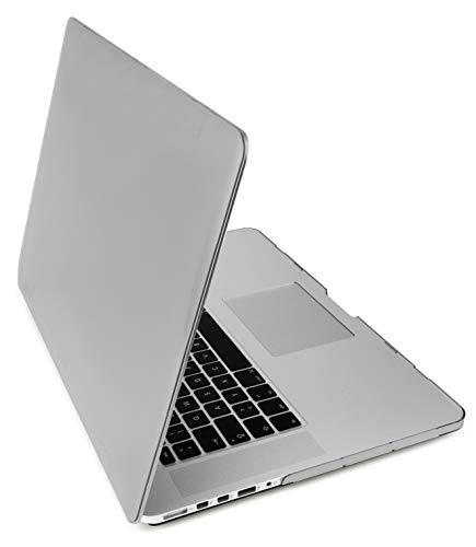 MyGadget Funda Dura Mate para Apple Macbook Pro Retina 15' de 2013 a Mitad 2016 (A1398) - Carcasa Opaca Ultra Delgada - Hard Case - Clara