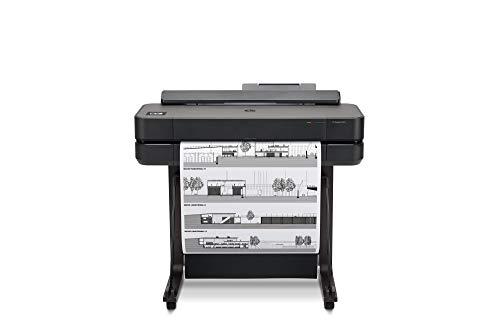 "HP DesignJet T650 Large Format Wireless Plotter Printer - 24"", with Modern Office Design (5HB08A)"