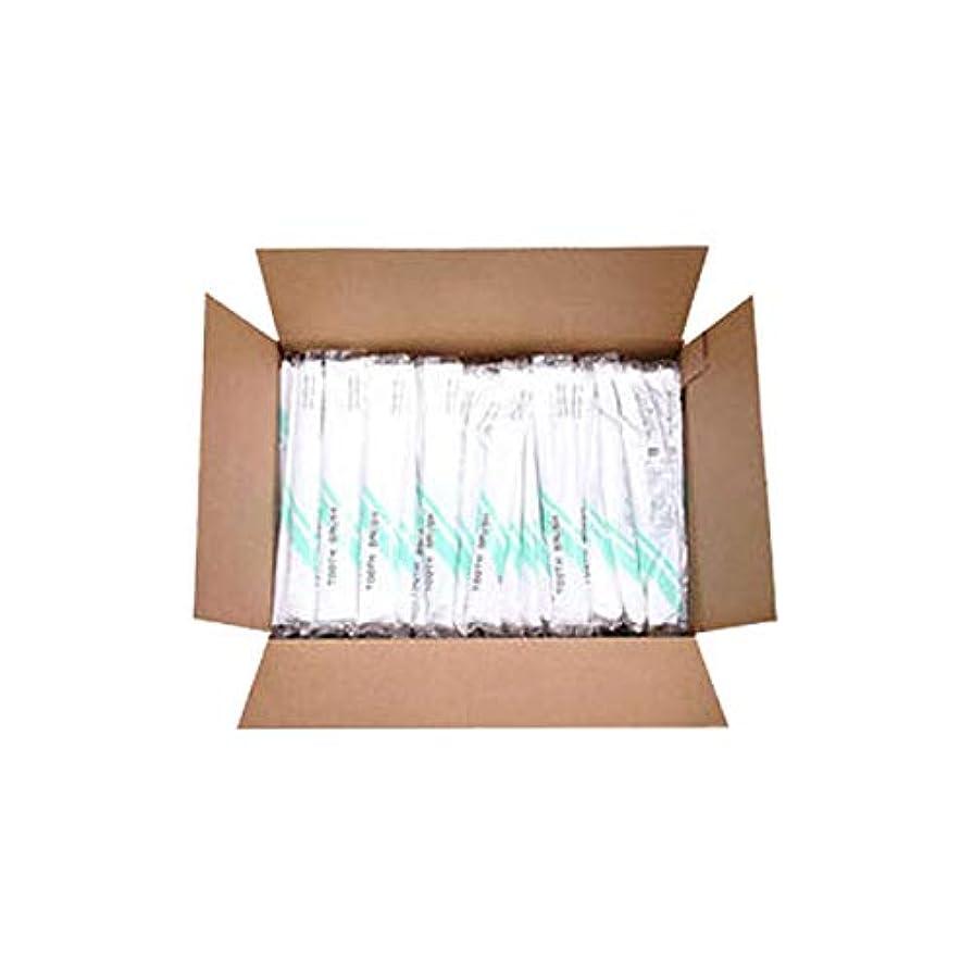 オークランド汚染されたはげ使い捨て歯ブラシ (歯磨き粉付) 500本入 [ 使い捨て 使い切り 歯ブラシ 歯ぶらし オーラルケア アメニティ ホテル 旅館 業務用 ]