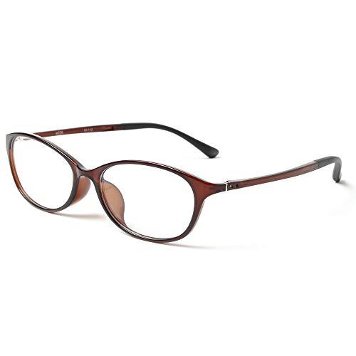 MIDI-ミディ ブルーライトカット 老眼鏡 UVカット やり過ぎないお洒落感+確かなかけ心地、「ちょうどいい。」リーディンググラス レディース ショコラブラウン 度数+3.50 (m112,c1,+3.50)