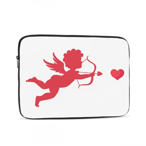 Computer Cover Cute Cupid with Bow and Arrow Mac Air Cover Multi-Color & Size Choices 10/12/13/15/17 Inch Computer Tablet Briefcase Carrying Bag