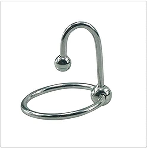 Pequeño anillo Pennis de acero inoxidable para hombre, más largo, más duro, anillo de reloj para hombres, manténgase feliz más tiempo-30 mm