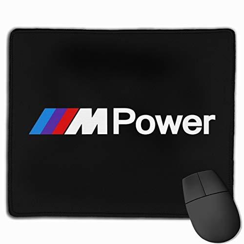 N / A B-M-W Power Mauspad Mouse Mat Mausmatte Schreibtischmatte wasserdichte rutschfeste Matte for Computer 25x30 cm