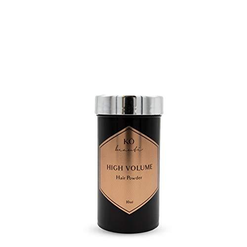 Volumen Haarpuder 10 ml für volles Haar ohne Silikone, mit Bambus und Keratin, mehr Fülle und Textur für dünnes, feines und kraftloses Haar, verbessertes Styling