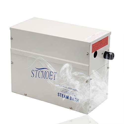 Hanchen 3KW Generador de Vapor para Sauna/Baño Turco/Spa Dentro de 3m³ Temperatura Ajustable 35-55℃ Control de Tiempo 30min-12h CE
