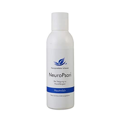 Naturprodukte Schwarz – NeuroPsori Hautmilch, Körperlotion bei Neurodermitis und Schuppenflechte, 150ml