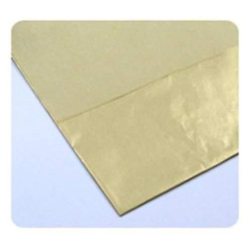 10 stuks vloeipapier bloem kleding shirt schoenen geschenkverpakkingen ambachtelijke papierrol wijn inpakpapier, goud