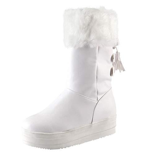 ALIKEEY Zapatos De Tacón Sandalias Mujer Cuña Alpargatas Plataforma Romanas Playa Gladiador Verano Tacon Plan