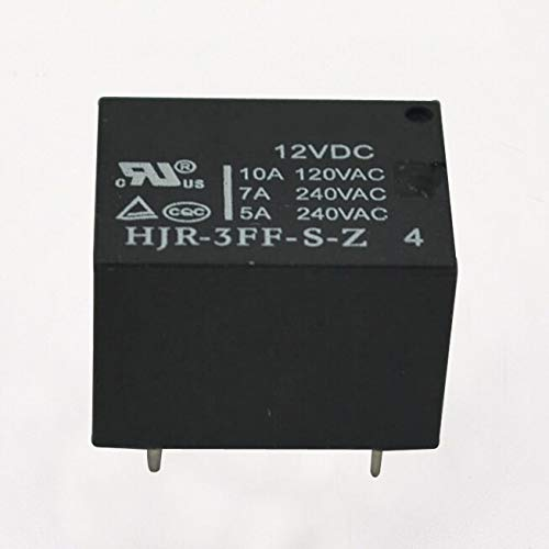 Davitu Electrical Equipments Supplies - 10pcs HJR-3FF-S-Z 12VDC