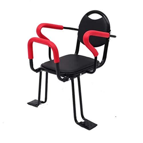 ZXCETZY Fiets Achterste Kinderstoel Verdikking Om Baby Fiets Veiligheid Achterbank Grote Kind Zitten met rugleuning