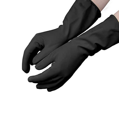 Gants jetables en latex sans talc Taille/: XL Hevea Int/érieur chlor/é pour r/éduire les r/éactions allergiques Lot de 5 bo/îtes de 100 gants chacune Tr/ès grande