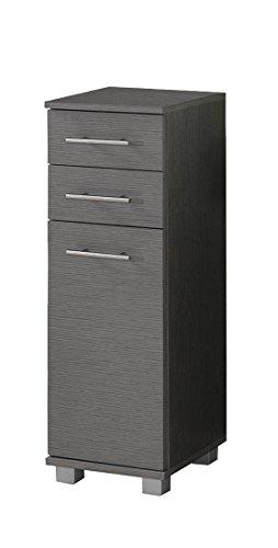 Schildmeyer Unterschrank 120243 Isola, 30x32.5x88 cm, esche grau Dekor