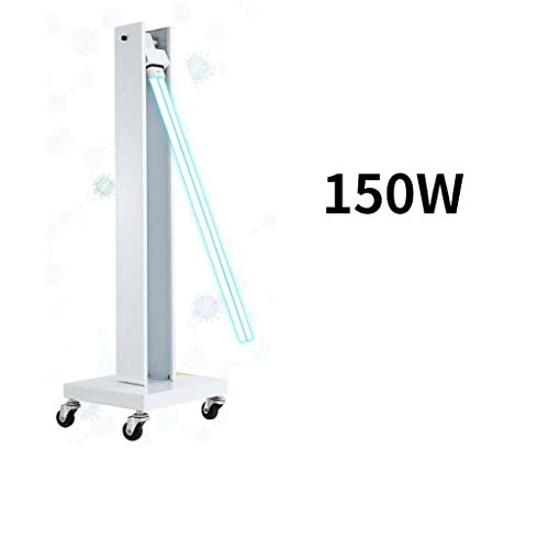 High Power UV-Desinfectie Lamp, 150W Remote Control Intelligent Timer Antibacteriële Percentage Loopt Op 99,99%, Effectief Te Blokkeren Influenza Virus, Geschikt Voor Factory Canteen Hospital
