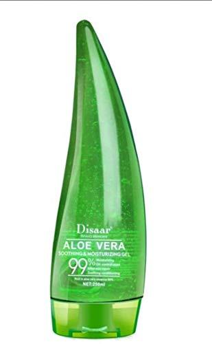 DISAAR BELEZA ALOE VERA 99% Soothing Gel Creme Líquida de Alta Hidratante 260ml muito suave