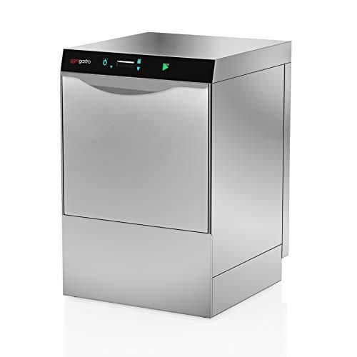 Geschirrspülmaschine Gastronomie 3,9 kW- Mit Laugenpumpe - Mit Reinigerpumpe (Doppelwandig)