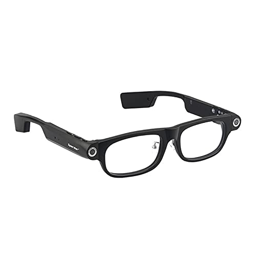 GUHUIHE Bluetooth Smart Glass Manos Libres Llamada 1080p Cámara Video GPS Navegación Recuerde Gafas de Sol (Color : V1 8G Memory)