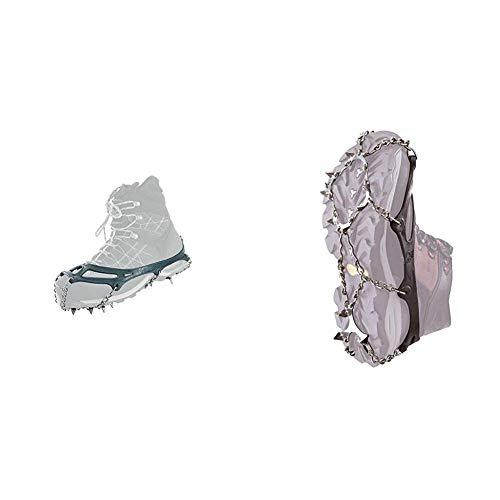 Snowline Chainsen Pro - Grödel, Spikes, Schneekette für den Stiefel - Grau, L & Chainsen Pro - Grödel, Spikes, Schneekette für den Stiefel - Grau, M
