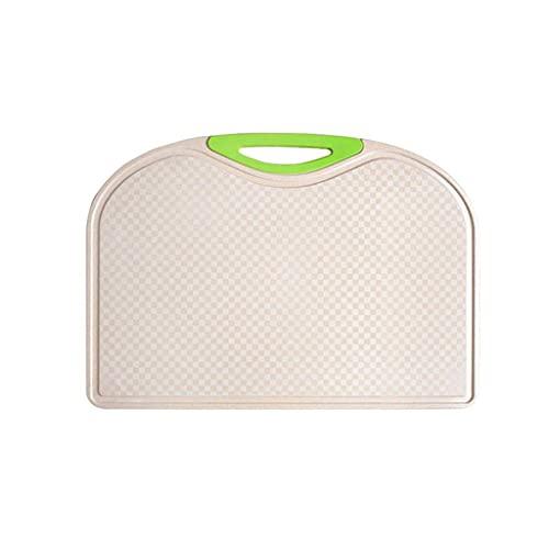 KGDC Tablas De Cortar Cocina Cocción Tablero de Corte Cocina Tableros de Corte Tablero de Fruta no poroso con Semillas de Jugo y Mango - Limpio Resistente al Calor Duradero Tabla de Cortar