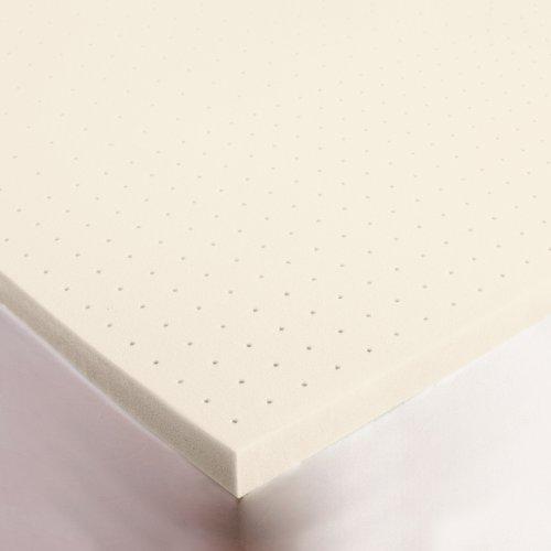 SleepJoy 3' ViscO2 Ventilated Memory Foam Mattress Topper, Full