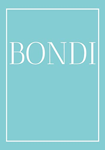 Bondi: A decorative book for coffee tables, end tables, bookshelves and interior design styling | Stack coastline books to add decor to any room. ... or as a gift for interior design savvy people