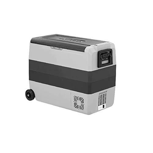 QCGZJCY Nevera eléctrica de 60 litros Nevera portátil Congelador 12V DC 220V AC Compresor Nevera de Picnic para Conducir Viajes Pesca al Aire Libre y Uso doméstico