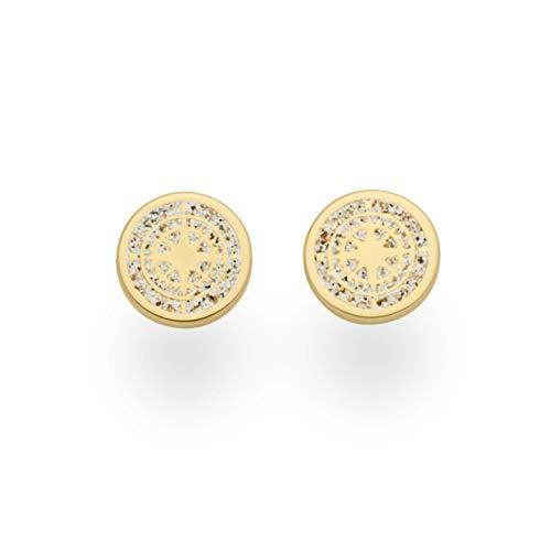 """DUR Damen Ohrring\""""Kompass\"""" vergoldet aus 925er Silber O5090"""