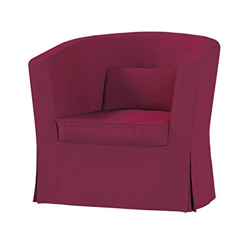 Dekoria Ektorp Tullsta Sesselbezug Sofahusse passend für IKEA Modell Ektorp Pflaume