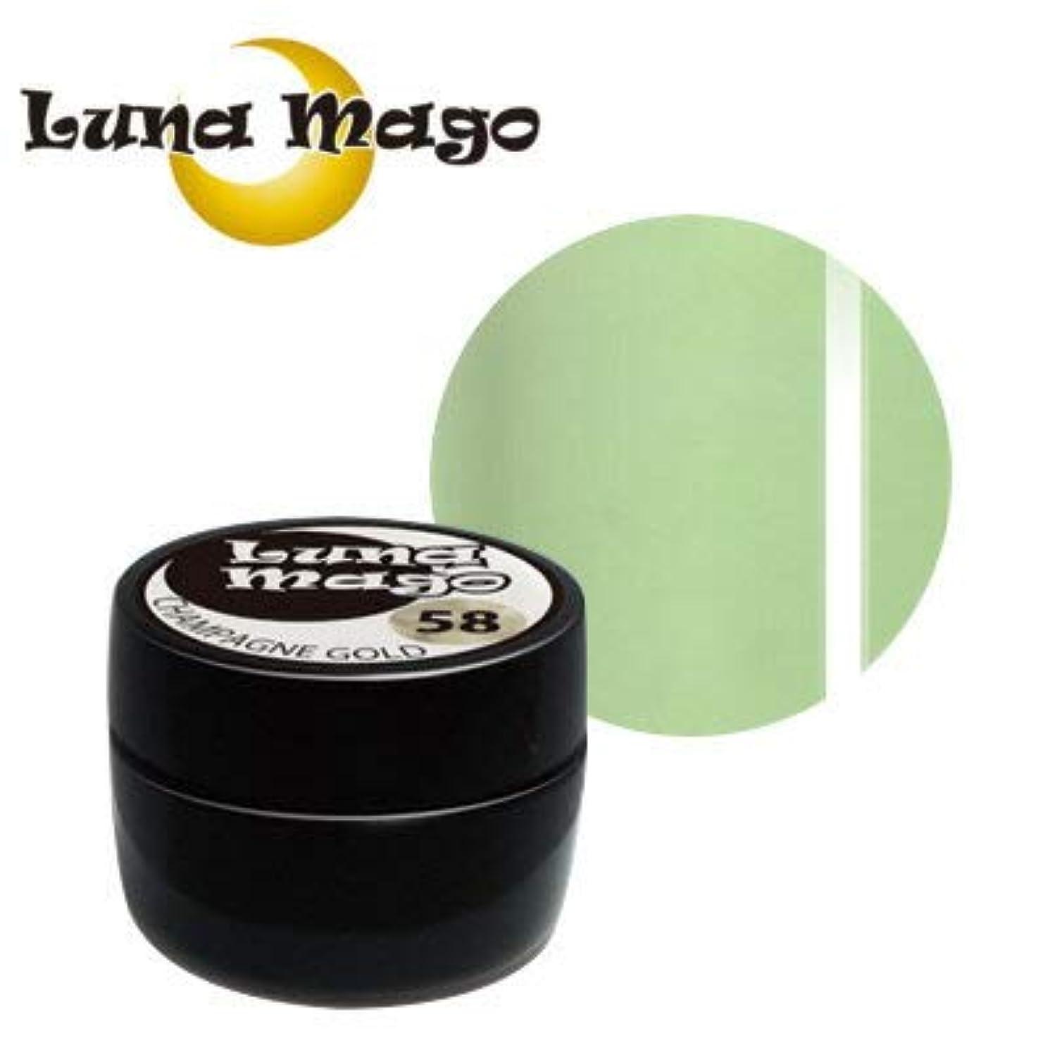 本当に百年不良品Luna Mago カラージェル 5g 037 グリーンティラテ