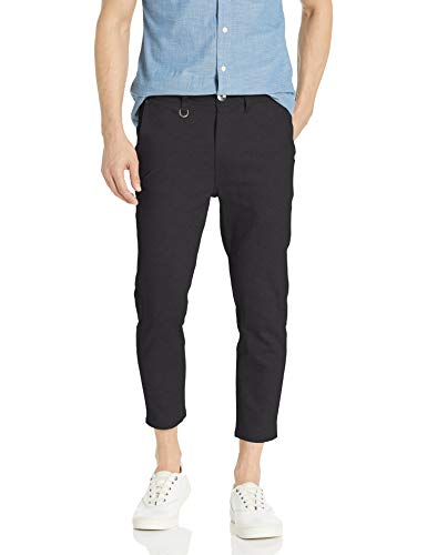 Publish Brand INC. Men's Classic 5 Pocket Ankle Pant, Black, 34