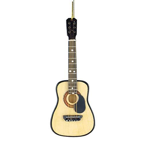 Broadway Gifts String Guitar W/Pick Guard Ornament