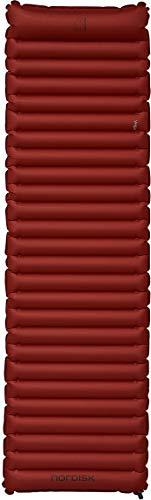 Nordisk Vega Air rechteckige Isomatte Isomatte, Burnt Red/Black