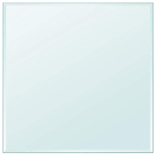 """Unfade Memory High Strength Tabletop Tempered Glass/Thickness 0.3""""/ Flat Polish Eased Edge (31.5""""x31.5"""", Square)"""