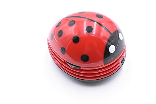 Buy Red Beetle Shaped Portable Corner Desk Table Top Vacuum Cleaner Mini Cute Vacuum Cleaner Dust Sw...