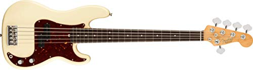 Fender エレキベース American Professional II Precision Bass® V, Rosewood Fingerboard, Olympic White