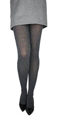Marilyn ondoorzichtige panty met discreet ruitpatroon 60 denier