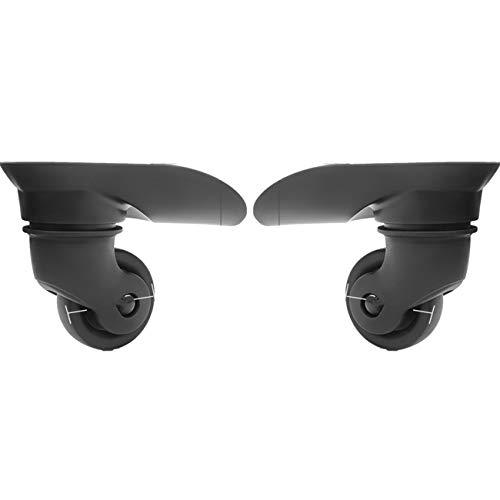 Un par de ruedas universales de repuesto para maletas, reparación de casos de viaje DIY (YF-W172)