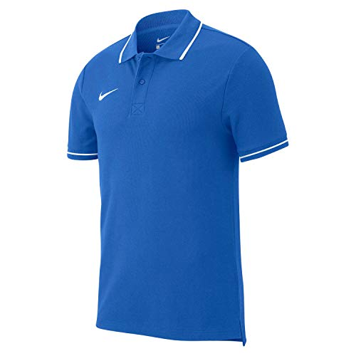 Nike Team Club 19 Polo Polo Enfant Royal Blue/White FR : S (Taille Fabricant : S)